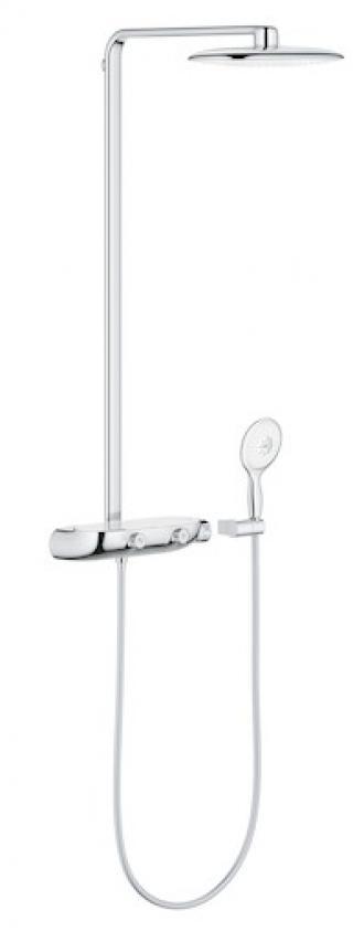Sprchový systém Grohe Rainshower SmartControl s termostatickou baterií Moon White, Yang White 26361LS0 ostatní Moon White