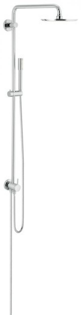 Sprchový systém Grohe Rainshower System bez baterie chrom 27058000 chrom chrom
