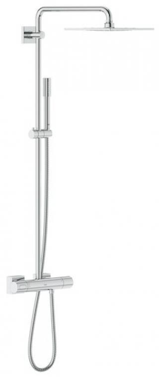 Sprchový systém Grohe Rainshower System s termostatickou baterií chrom 27469000 chrom chrom