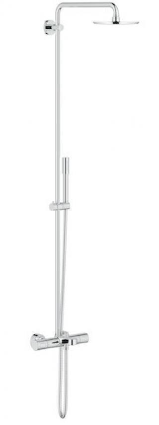 Sprchový systém Grohe Rainshower System s termostatickou baterií chrom 27641000 chrom chrom