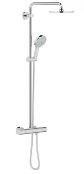 Sprchový systém Grohe Rainshower System s termostatickou baterií chrom 27967000 chrom chrom