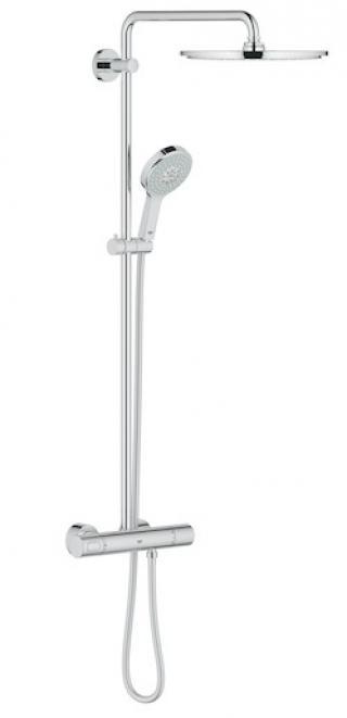 Sprchový systém Grohe Rainshower System s termostatickou baterií chrom 27968000 chrom chrom