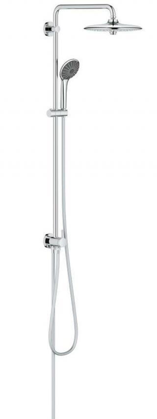 Sprchový systém Grohe Vitalio Joy na stěnu se sprchovým setem chrom 27357002 chrom chrom