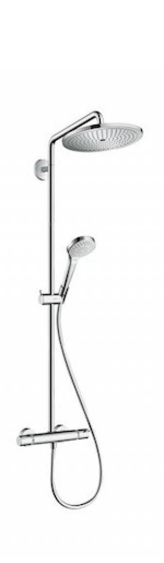 Sprchový systém Hansgrohe Croma Select S s termostatickou baterií chrom 26794000 chrom chrom