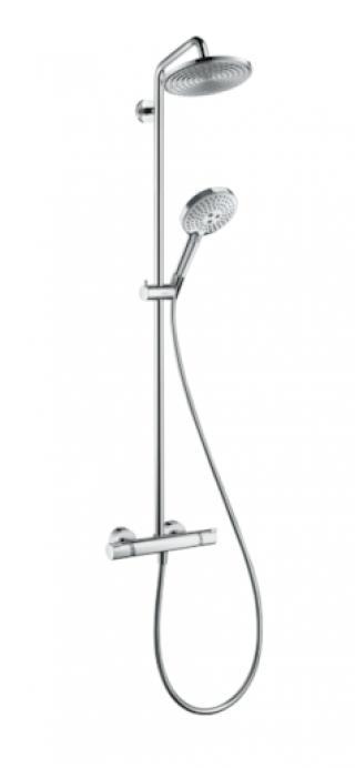 Sprchový systém Hansgrohe Raindance S na stěnu s termostatickou baterií chrom 27115000 chrom chrom