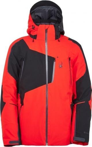 Spyder Leader GTX Mens Ski Jacket Volcano S pánské Red S