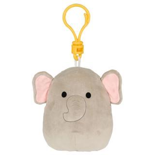 SQUISHMALLOWS Klíčenka šedý slon šedá