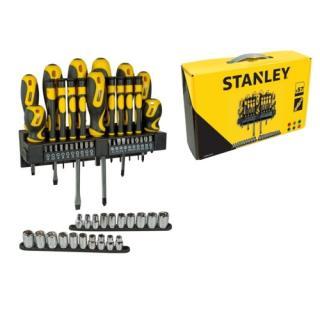 Šroubováky Stanley 57 dílná sada STHT0-62143