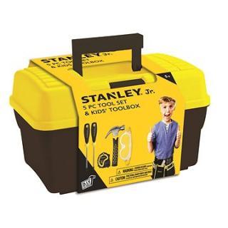 Stanley Jr.TBS001-05-SY, dětské nářadí, 5 ks, žluto-černé