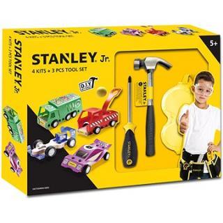 Stanley Jr.U001-K04-T03-SY Sada 4 ks autíček, šroubováku a kladiva.