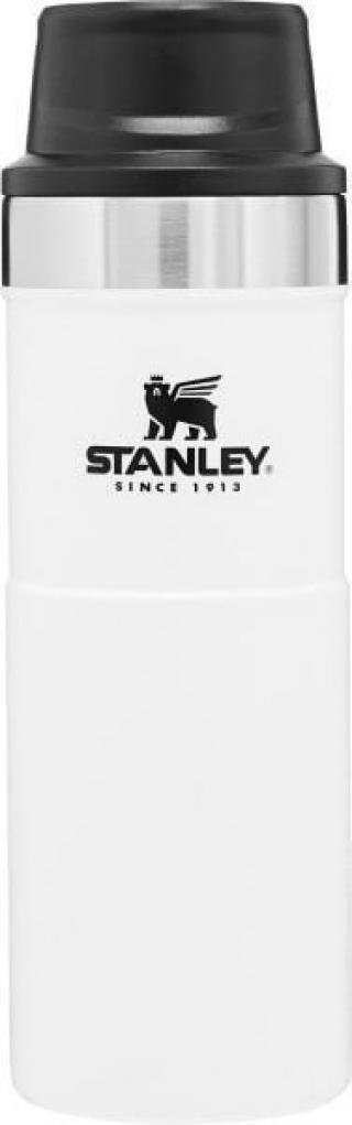 Stanley The Trigger-Action Travel Mug 0,47L Polar White