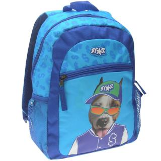 Star Graphic Backpack Childrens Doggy Rascal | Other One size