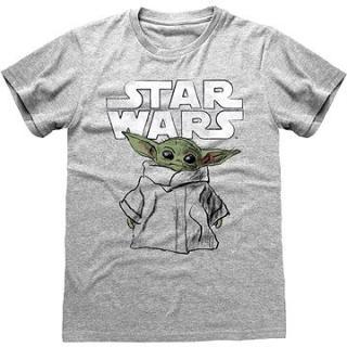 Star Wars Mandalorian - The Child Sketch - tričko
