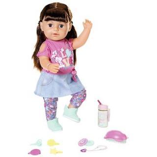 Starší sestřička BABY born Soft Touch brunetka