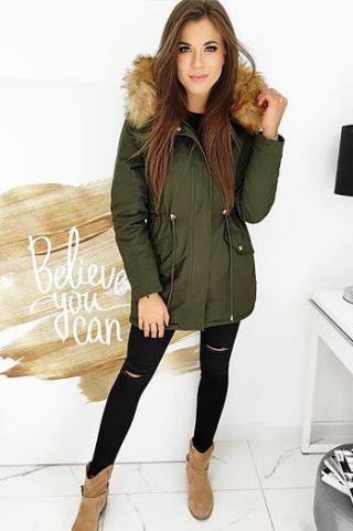 STEEPS womens winter parka jacket, green TY1518 dámské Neurčeno XL