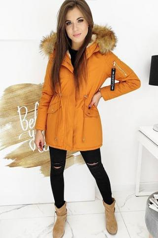STEEPS womens winter parka jacket, yellow TY1519 dámské Neurčeno L