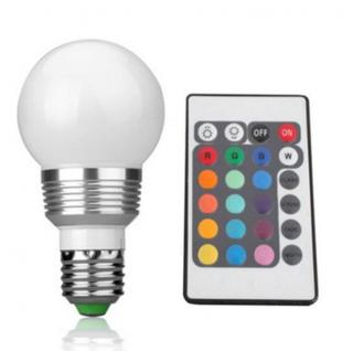 Stmívatelná RGB led žárovka E27 5W/7W 265V Příkon: 5W