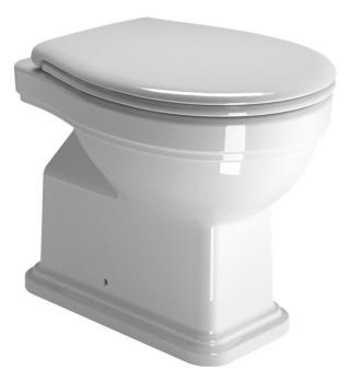 Stojící WC GSI Classic zadní odpad 871111 bílá bílá