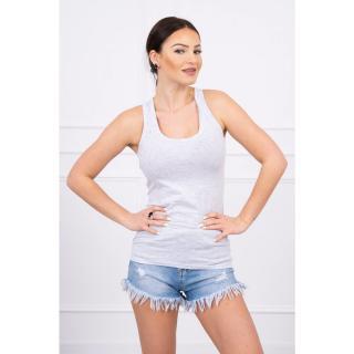 Strappy top blouse gray dámské Neurčeno One size