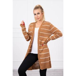 Striped sweater camel dámské Neurčeno One size