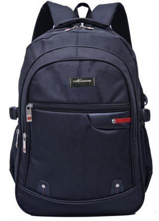 Studentský batoh unisex - černý