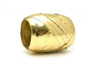 Stuha metal zlatá 20m