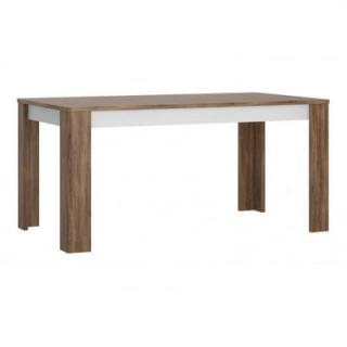 Stůl Toledo TOLT03 Meble Wójcik Bílý lesk
