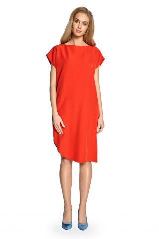 Stylove Womans Dress S098 dámské Red L