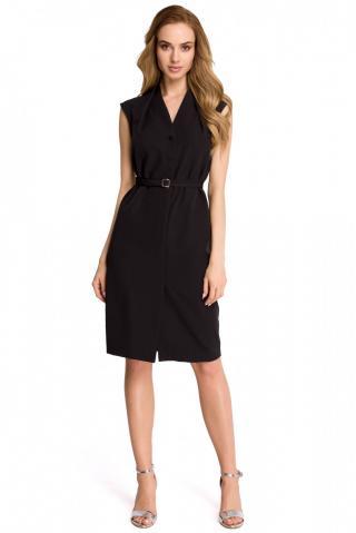 Stylove Womans Dress S102 dámské Black L