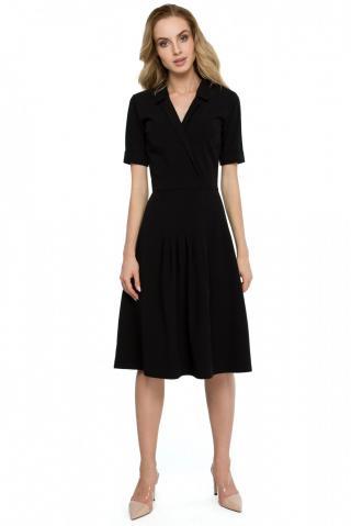 Stylove Womans Dress S122 dámské Black L