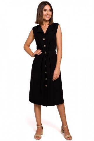 Stylove Womans Dress S208 dámské Black L