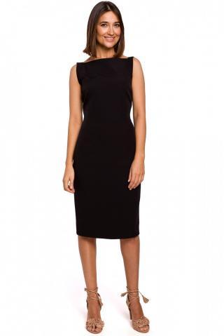Stylove Womans Dress S216 dámské Black L