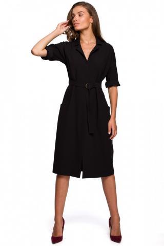Stylove Womans Dress S230 dámské Black L