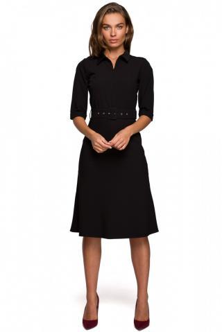Stylove Womans Dress S231 dámské Black L