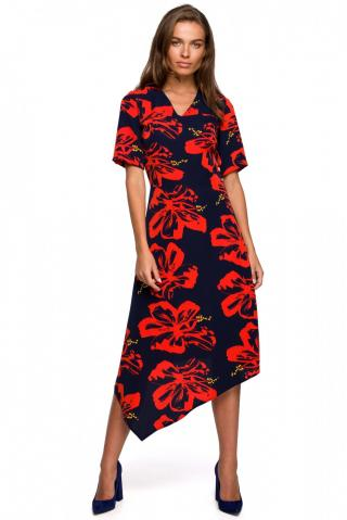Stylove Womans Dress S232 Model 1 dámské wzorzysty L