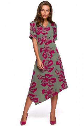 Stylove Womans Dress S232 Model 2 dámské wzorzysty L
