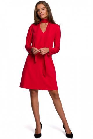 Stylove Womans Dress S233 dámské Red L