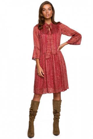 Stylove Womans Dress S237 Model 2 dámské wzorzysty L