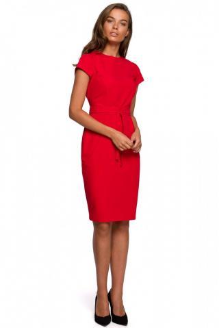 Stylove Womans Dress S239 dámské Red L