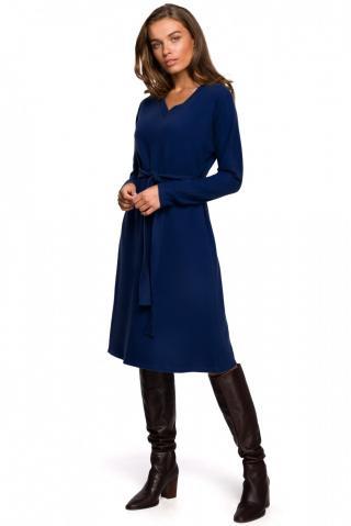 Stylove Womans Dress S250 dámské Deep Blue XXL