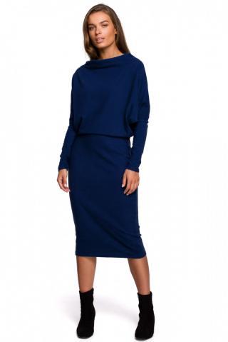 Stylove Womans Dress S251 dámské Deep Blue XXL