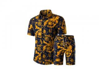 Stylový pánský set - Košile a kraťasy Velikost: XS