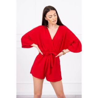 Suit with batwings red dámské Neurčeno One size
