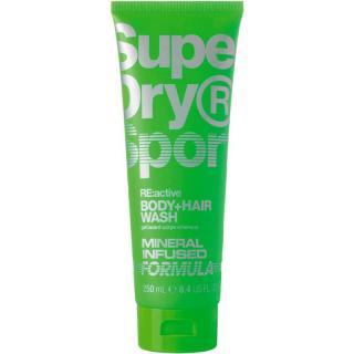 Superdry RE:active sprchový gel na tělo a vlasy pro muže 250 ml pánské 250 ml