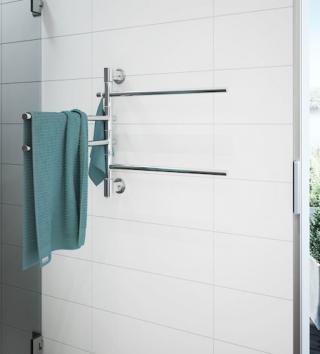 Sušák ručníků elektrický P.M.H. Fenix 54x60 cm chrom FE3594540NRZ nerez