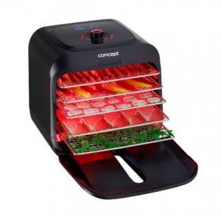 Sušička potravin sušička potravin concept infra so4000, 5 plátů