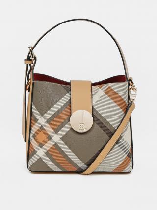 Světle hnědá vzorovaná kabelka Bessie London dámské