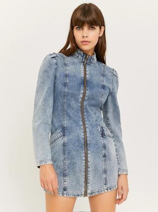 Světle modré džínové šaty TALLY WEiJL dámské Světle modrá M