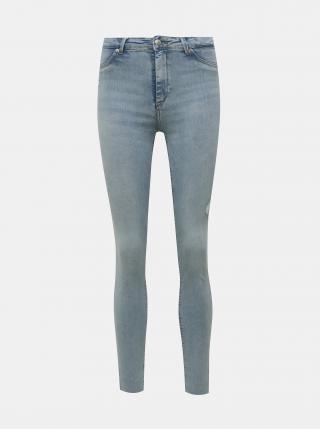 Světle modré skinny fit džíny TALLY WEiJL dámské světle modrá XL