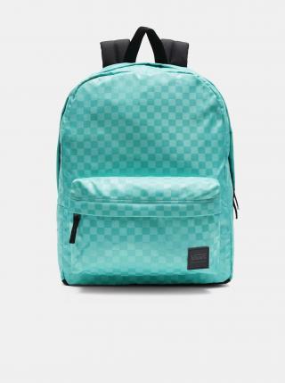 Světle zelený dámský kostkovaný batoh VANS dámské světle zelená